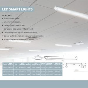 LED SMART LIGHT SPECS